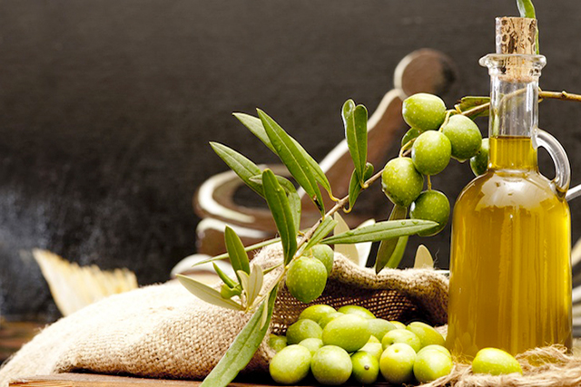 Olive oil. Rich in antioxidants and vitamin E, this humble oil is a powerhouse that should be part of your daily diet. Look for a virgin, cold pressed variety. Its fans include Sophia Loren and Marilyn Monroe, which should tell you something.