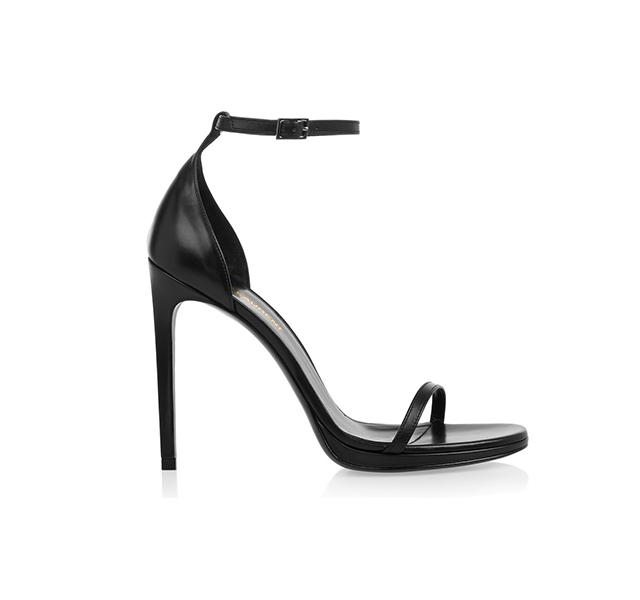 Heels: Saint Laurent Black pumps