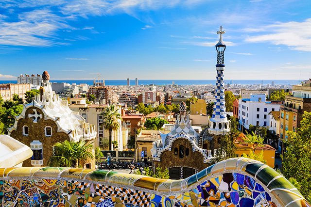 Malaga to Barcelona, Spain: allow at least a week to journey through some of Spain's prettiest spots, including Granada and Valenica, while stopping for sangria, churros and paella along the way.