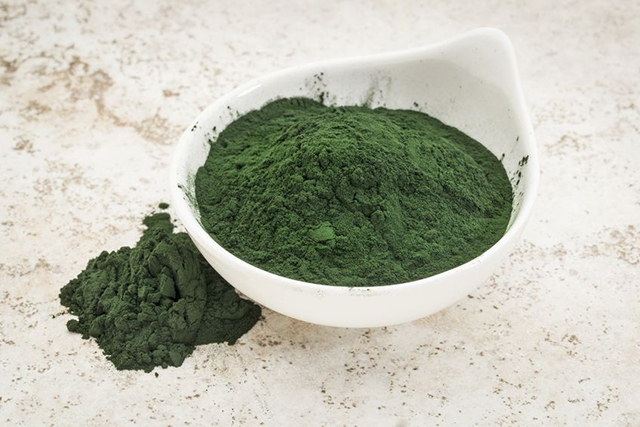 Spirulina. This is the mother of all superfoods. Containing more than 100 nutrients, it's no wonder it's used by astronauts and supermodels alike.