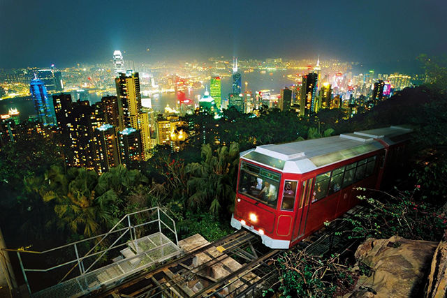 The Peak Tramway, Hong Kong, China