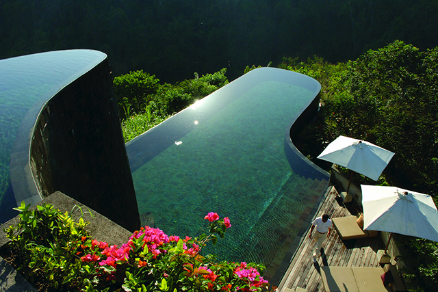 The Hanging Gardens Hotel, Bali, Indonesia