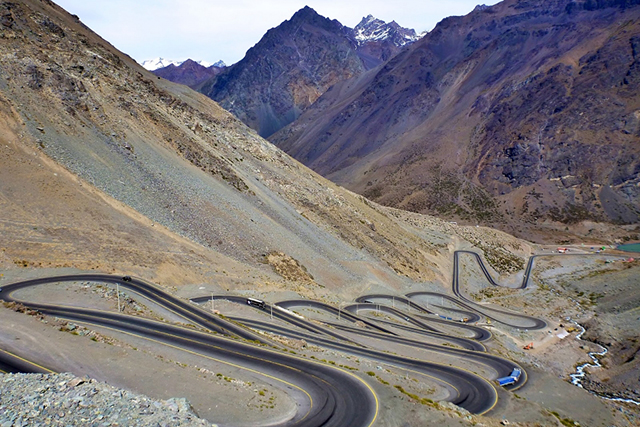 Trans-Andean Highway, Santiago to Argentina: You could ski the Andes, but have you thought about driving them?