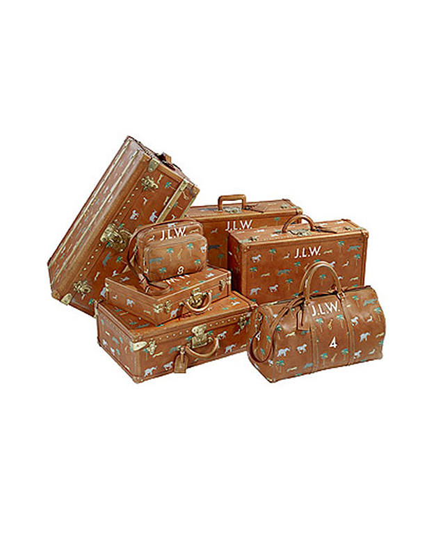 Marc Jacobs x  Louis Vuitton's luggage for The Darjeeling Limited