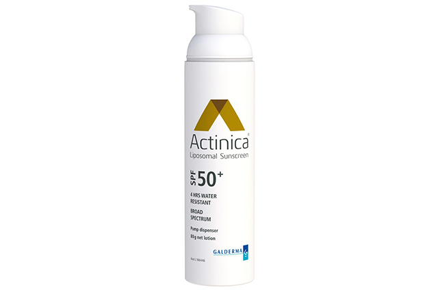 Actinica SPF 50+ lotion: this is what you'll find in beauty editors' and skin therapists' bathroom cupboards – superstar facialist Melanie Grant is a fan.