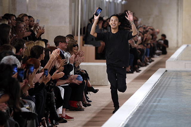 His first collection for the brand will be unveiled at next month's Paris Fashion Week, while Wang (pictured) will show his eponymous label's collection in New York on Feb 13.