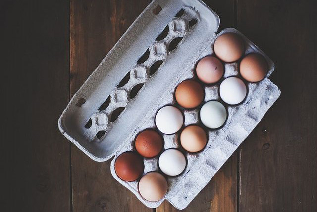 Eat about four eggs each week