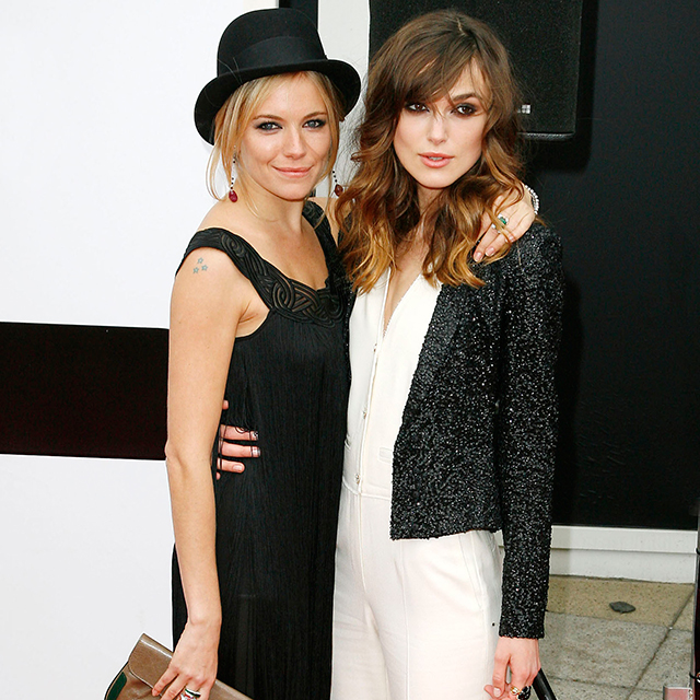 Sienna Miller and Keira Knightley