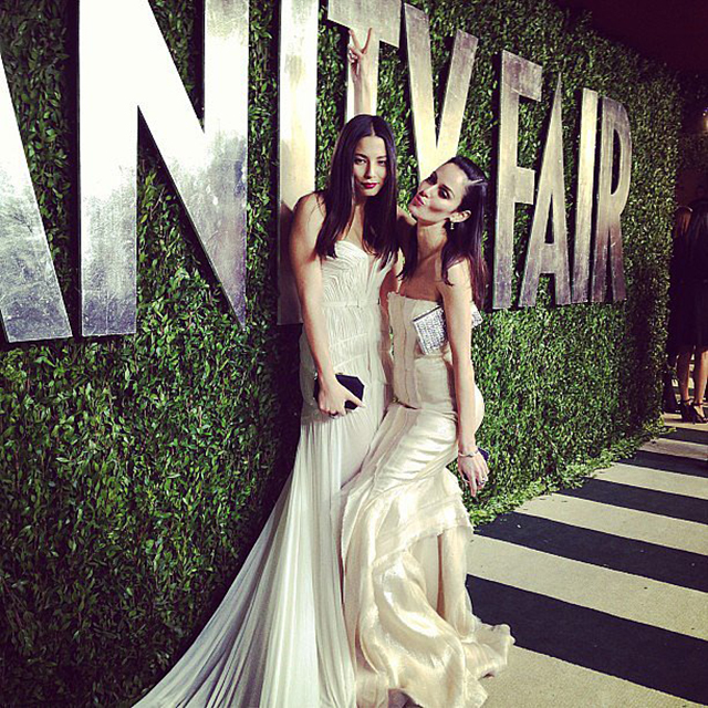 Jessica Gomes and Nicole Trunfio