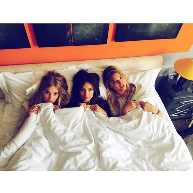 Elsa Hosk, Lily Aldridge and Paige Reifler