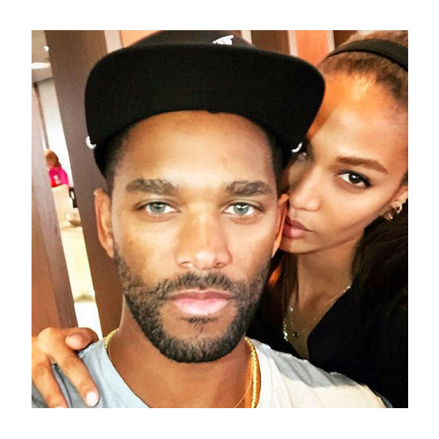 Joan Smalls and Bernard Smith
