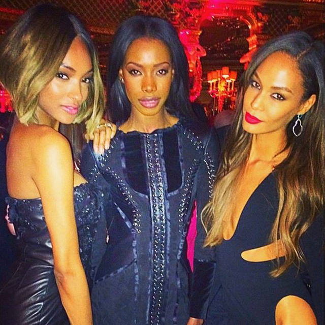 Jourdan Dunn, Sigail Currie and Joan Smalls