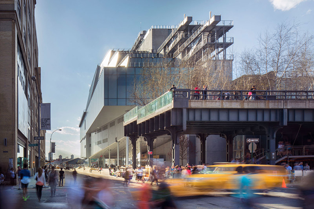 The new Whitney Museum building