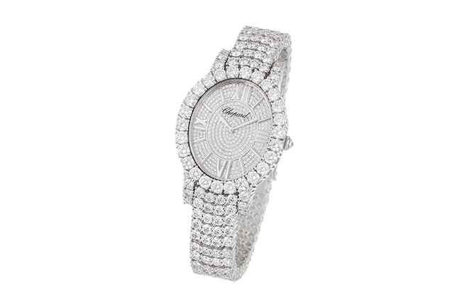 Chopard Heure du Diamont 18-carat white gold and diamond watch, POA