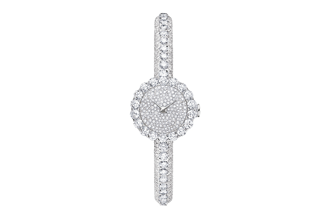 Dior La Mini D De Dior Haute Joaillerie white gold and diamond watch, POA