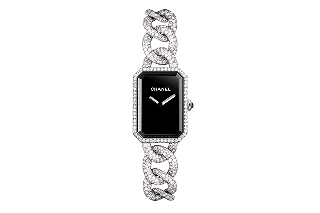 Chanel Premiere Full Pave watch with 495 diamonds, $299,500