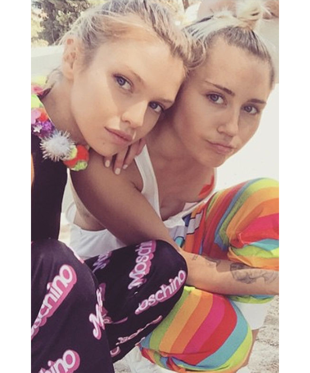 stella gay dating site Get to know miley cyrus' party pal and rumored new girlfriend, stella maxwell.