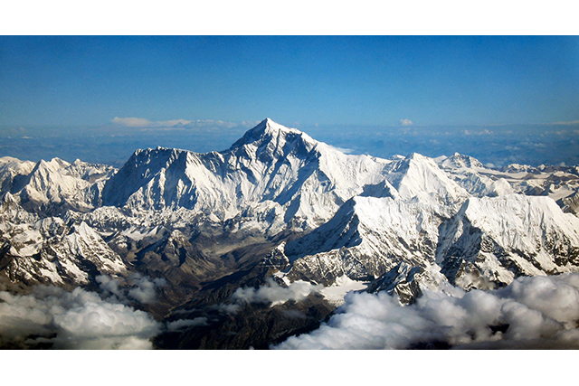 18. Mount Everest, the Himalayas.