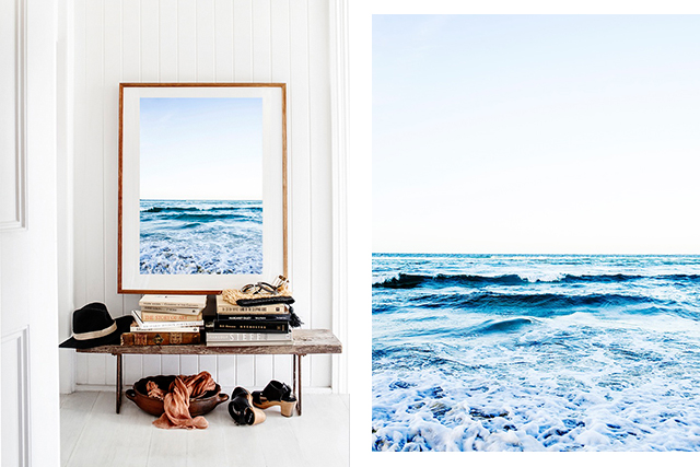Kara Rosenlund Ocean print: There's a bare wall in my apartment ready and waiting for this print. I'm a huge fan of Australian photographer Kara Rosenlund's wanderlust-inducing work – her New Zealand landscapes are also divine (hint, hint).