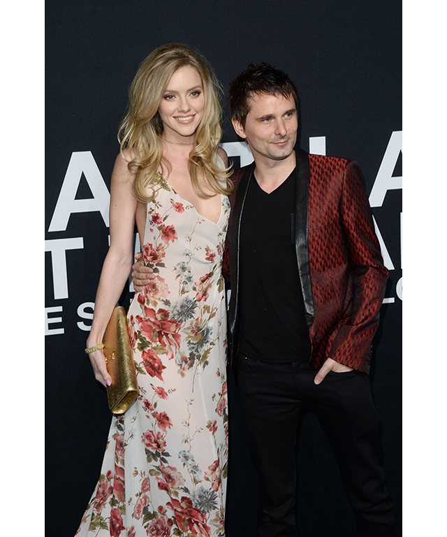 Elle Evans and Matt Bellamy