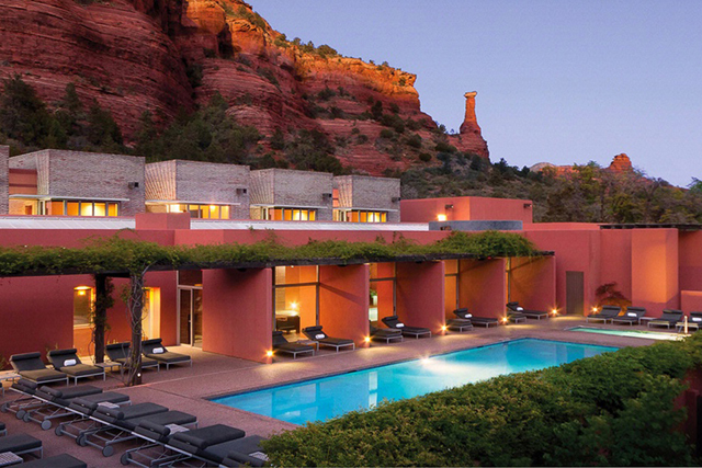 Mii Amo Spa, Sedona USA: This destination spa is set in the stunning red-rocked countryside of Arizona - it's just you and the luxury robe out here. Take your pick of a 3, 4 or 7-day pampering journey.