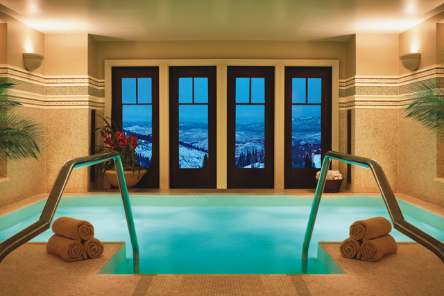 Spa Montage Deer Valley, Utah USA: Travel hunters flock to Utah for the skiing, hiking and spa-going at the Spa at the Montage, Deer Valley. Who needs a glass of champs when you can have a cleansing Vichy shower followed by a full body massage?