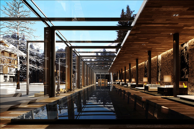 Spa at The Chedi, Andermatt Switzerland: 2400 square meters of pure highland spa indulgence is on offer at the Chedi's spa in Switzerland. Progressive Finnish saunas, organic Sol steam baths and organic high-end products round out the menu.