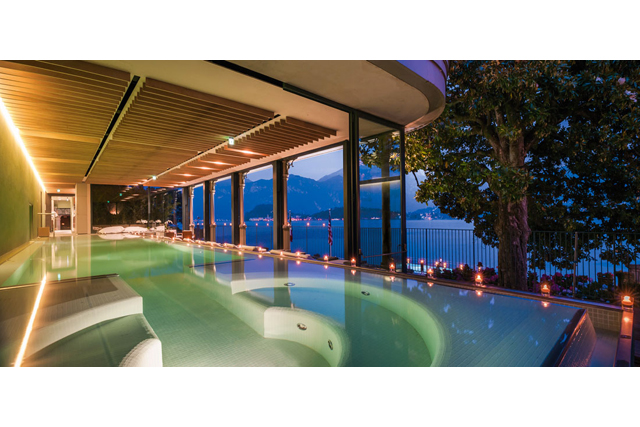 T Spa at Grand Hotel Tremezzo, Lake Como Italy: A boutique spa with the best lake views, the T Spa at the Grand Hotel Tremezzo is all kinds of Italian relaxation gorgeous. Their hammam suite is stacked with marble so pretty it hurts.