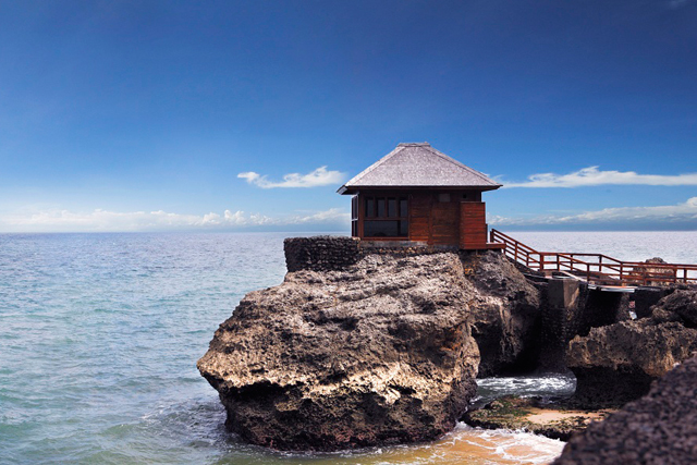 Spa on The Rocks, Ayana Resort, Bali: Serious rooms with a view, the dual spa villas here are built directly onto the rocks and face forward into the Indian Ocean. The massages are also marvellous, but let's be honest, the view is the sell.