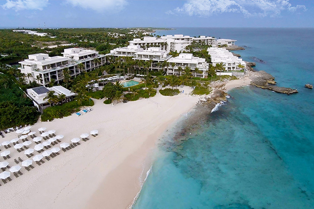 Anguilla. The Caribbean island is the ideal romantic destination - most recently hosting Harry Styles and Kendall Jenner on vacation, while Justin Bieber and Hailey Baldwin got seriously loved up here over NYE.