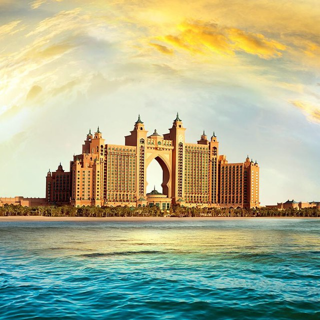 3. Atlantis The Palm (Dubai)