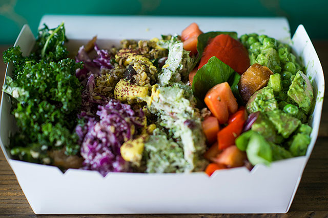 Botanica, Red Hill, Brisbane: Botanica takes the 'fast food' concept and applies a health model to it, offering takeaway salads for time-poor Brisbanites. Healthy heart starters include baby peas, kale, cabbage, brown rice, carrots, and broccoli.