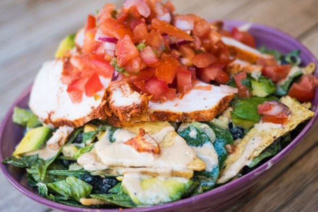 Bruce Leaves, Alexandria and Bondi, Sydney: Salads made by chefs is on the board at Bruce Leaves, translating to plates filled with all the big salad goods. Don't miss their Mex take on the poached chicken salad.