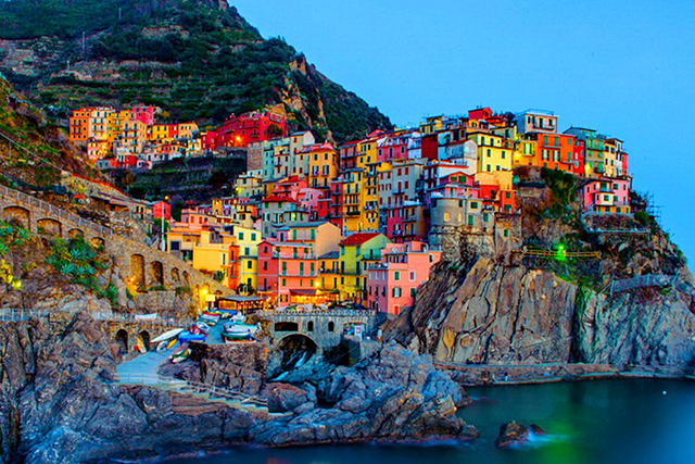 Cinque Terre, Italy: The Cinque Terre is Italy's answer to France's Cote d'Azur – sun, sea and amazingly coloured villages. Vermazza and Manarola are the standouts.