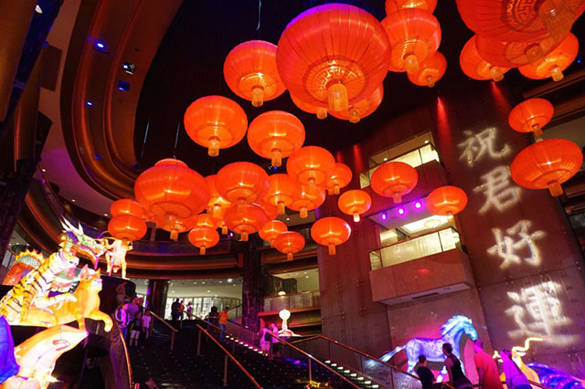 Crown Melbourne: See the pretty city lights via the 60 hanging and giant animal lanterns adorning the Crown's Atrium until Feb 21.