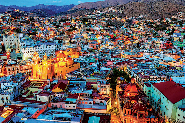 Guanajuato, Mexico: Guanajuato in central Mexico is the spiced up side of a colourful life.
