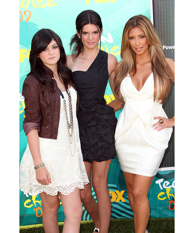 With Kim and Kendall in August 2009