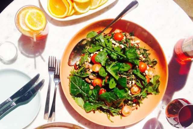 Luxe, Woollahra, Sydney: Catering to the chic eastern suburbs set, Luxe Woollahra plates up daily leafy offerings, with taste bombs like the tomato, grain and green salad making a regular appearance.