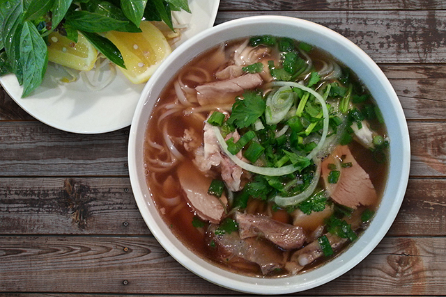 Madame Nhu, Surry Hills, CBD, Chatswood: Offering three locations to get the good pho, Madame Nhu keeps the flavourings tight with an 8-hour 'secret' broth and a variety of inventive ingredients including chicken, beef, tiger prawns, and roast duck.