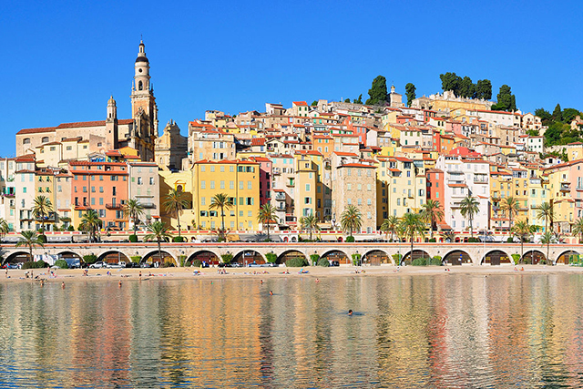 Menton, Cote d'Azur, France: A natural beauty on the edge of the French Riviera, Menton is the last word in seaside chic.