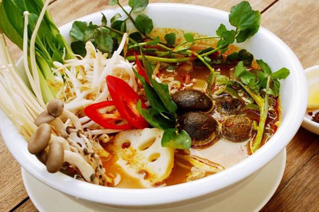 Nourishing Quarter: Inspired vegan Vietnamese in a low-fi inner-city setting. Go for the rice paper rolls, stay for the amazing buckwheat and sweet potato noodle pho.