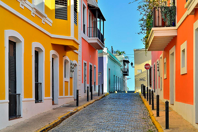 Old San Juan, Puerto Rico: Old San Juan slays it in the colour code arena.