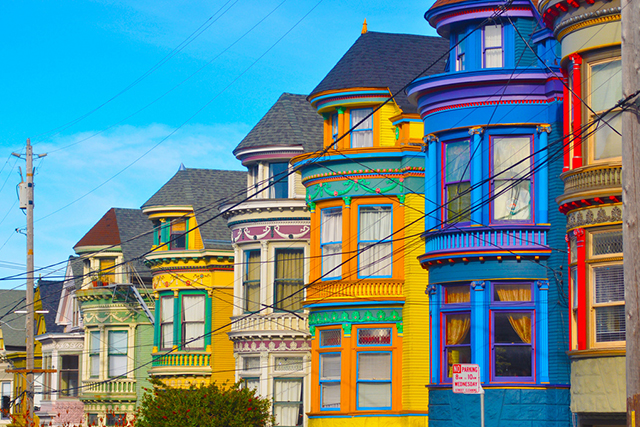 San Franciso, California: San Francisco's multi-coloured musings give the Golden Gate city a photo finish.