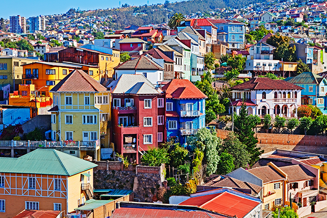 Valparaiso, Chile: Vivid Valparaiso is one seaport no captain will need navigation tools to find.