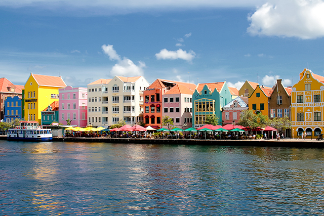Willemstad, Curacao: Take note: this is the sublime result when a town colour coordinates.