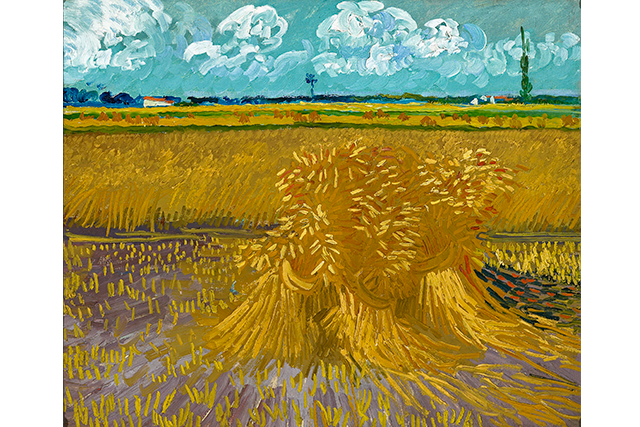 Vincent van Gogh, Wheatfield 1888 Arles oil on canvas 55.2 x 66.7 cm Honolulu Museum of Art, Hawaii Gift of Mrs Richard A. Cooke and family in memory of Richard A. Cooke, 1946