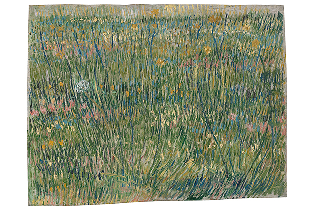 Vincent van Gogh, Patch of grass April-June 1887 Paris oil on canvas 30.8 x 39.7 cm Kröller-Müller Museum, Otterlo © Collection Kröller-Müller Museum, Otterlo, the Netherlands