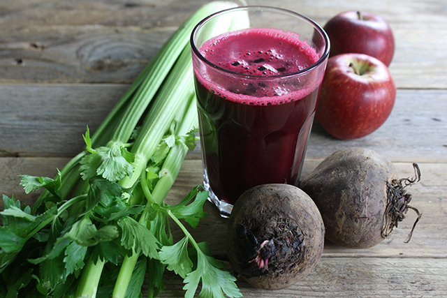 "To rectify the rehydrating situation go for ""Coconut water or a big veggie juice with beetroot, green leafy veg and ginger."""
