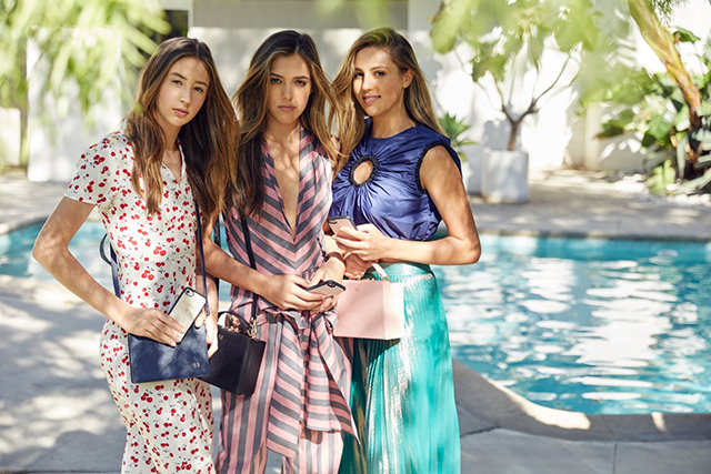 Sistine Stallone and her sisters are modelling for which Aussie brand?