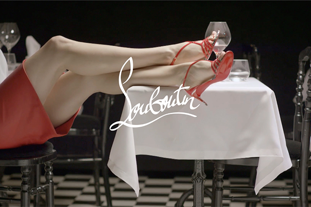 Christian Louboutin invites you to dine on his new collection